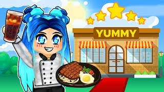Opening Our 5 STAR Family Restaurant In Roblox!