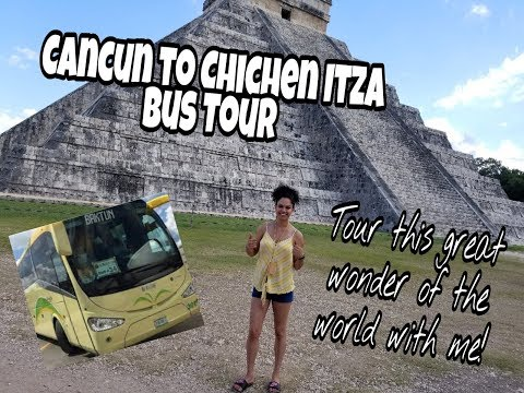 EXCURSION FROM CANCUN: Tour of Chichen Itza!