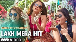 "We bring to you the video ""Lakk Mera Hit"" from the Bollywood movie ""Sonu Ke Titu Ki Sweety"". The movie is Starring  Kartik Aaryan, Nushrat Bharucha & Sunny Singh.  ♪ Available on ♪ iTunes : http://bit.ly/Sonu-Ke-Titu-Ki-Sweety-iTunes Hungama : http://bit.ly/Sonu-Ke-Titu-Ki-Sweety-Hungama Saavn : http://bit.ly/Sonu-Ke-Titu-Ki-Sweety-Saavn Gaana : http://bit.ly/Sonu-Ke-Titu-Ki-Sweety-Gaana Apple Music : http://bit.ly/Sonu-Ke-Titu-Ki-Sweety-Apple-Music _______________________________________ For  Caller Tunes : Lakk Mera Hit http://bit.ly/2ECMQlI Jantari Follow - Lakk Mera Hit http://bit.ly/2ohU1IW Main Buity Di - Lakk Mera Hit http://bit.ly/2GtlNdb  Set as Caller Tune: Set ""Lakk Mera Hit"" as your caller tune - sms DISHM5 To 54646\ Set ""Jantari Follow - Lakk Mera Hit"" as your caller tune - sms DISHM6 To 54646 Set ""Main Buity Di - Lakk Mera Hit"" as your caller tune - sms DISHM6 To 54646 ________________________________________ Song  - Lakk Mera Hit  Singer – Sukriti Kakar, Mannat Noor And Rochak Kohli Music – Rochak Kohli Lyrics – Kumaar Additional Vocals – Anita Bhatt Arranged And Programmed By – Sourav Roy Mixed And Mastered By – Tanay Gajjar @ Wow@Flutter Studio Vocals Recorded By Rupak Thakur @ Wow@Flutter Studio Addl. Vocals Recorded At Rochak Kohli Music Studio Mix Assistants – Rupak Thakur Music Assistant – Singh Dhruva  ________________________________________ Operator Codes:  1.Lakk Mera Hit Vodafone Subscribers Dial 53710255379 Airtel Subscribers Dial 5432116488232 Idea Subscribers Dial 5678910255379 Tata DoCoMo Subscribers dial 54321110255379 Aircel Subscribers sms DT 6982316  To 53000 BSNL (South / East) Subscribers sms BT 10255379 To 56700 BSNL (North / West) Subscribers sms BT 6982316 To 56700 Virgin Subscribers sms TT 10255379 To 58475 Telenor Subscribers dial 500110255379 MTNL Subscribers sms PT 10255379 To 56789  2.Jantari Follow - Lakk Mera Hit Vodafone Subscribers Dial 53710255378 Airtel Subscribers Dial 5432116488231 Idea Subscribers Dial 5678910255378 Tata DoCoMo Subscribers dial 54321110255378 Aircel Subscribers sms DT 6982314  To 53000 BSNL (South / East) Subscribers sms BT 10255378 To 56700 BSNL (North / West) Subscribers sms BT 6982314 To 56700 Virgin Subscribers sms TT 10255378 To 58475 Telenor Subscribers dial 500110255378 MTNL Subscribers sms PT 10255378 To 56789  3.Jantari Follow - Lakk Mera Hit Vodafone Subscribers Dial 53710255378 Airtel Subscribers Dial 5432116488231 Idea Subscribers Dial 5678910255378 Tata DoCoMo Subscribers dial 54321110255378 Aircel Subscribers sms DT 6982314  To 53000 BSNL (South / East) Subscribers sms BT 10255378 To 56700 BSNL (North / West) Subscribers sms BT 6982314 To 56700 Virgin Subscribers sms TT 10255378 To 58475 Telenor Subscribers dial 500110255378 MTNL Subscribers sms PT 10255378 To 56789 ___ Enjoy & stay connected with us! ► Subscribe to T-Series: http://bit.ly/TSeriesYouTube ► Like us on Facebook: https://www.facebook.com/tseriesmusic ► Follow us on Twitter: https://twitter.com/tseries ► Follow us on Instagram: http://bit.ly/InstagramTseries"