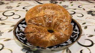 Узбекские лепешки!Гуштлик - нон(лепешки с мясом).Очень вкусно!