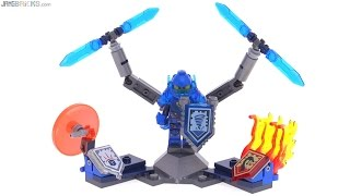 LEGO Nexo Knights Ultimate Clay reviewed! 70330