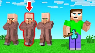 Playing GUESS WHO In MINECRAFT! (funny)
