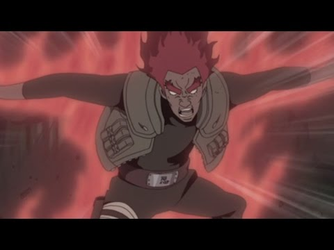 Eight Gates Might Guy vs Sage of Six Paths Madara Uchiha - English Dub - Naruto Shippuden