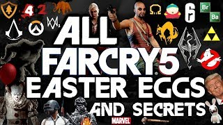 FAR CRY 5 All Easter Eggs And Secrets   Part 1   HD