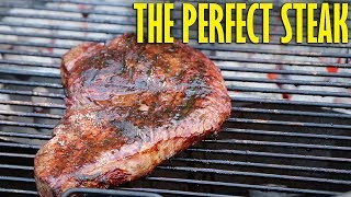 The Perfect Steak Grilled On The Weber Kettle Premium