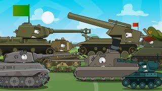 ТОП 5 первых серий Мультики про танки