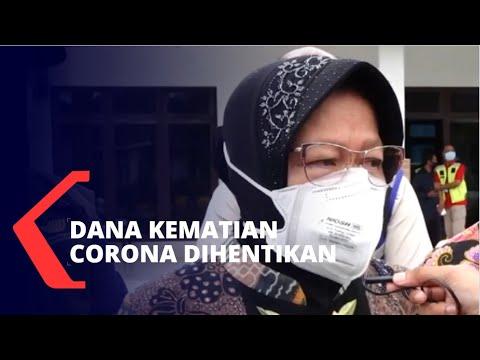Tidak Ada Anggaran, Mensos Risma Hentikan Dana Kematian Corona