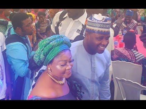 See How People Scream As Femi Adebayo Storm Actress Biodun Okeowo Omobutty Mum's Burial Ceremony