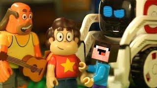 LEGO ВСЕЛЕННАЯ СТИВЕНА и Лего НУБик Майнкрафт Мультики Видео для Детей - Minecraft FNAF Animation