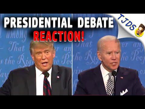 TRUMP-BIDEN Debate REACTION:  Fauci, Masks, & Green New Deal!