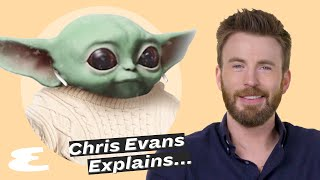 Chris Evans On Marvel, Trump Tweets And Baby Yoda    Explain This   Esquire