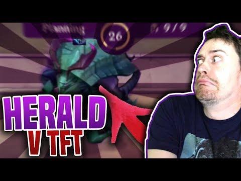 HERALD V TFT??! - Teamfight Tactics