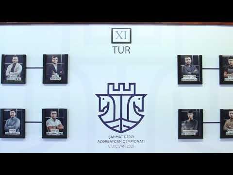 Şahmat üzrə Azərbaycan çempionatı- Naxçıvan 2021 (11-ci turdan video icmal) 1