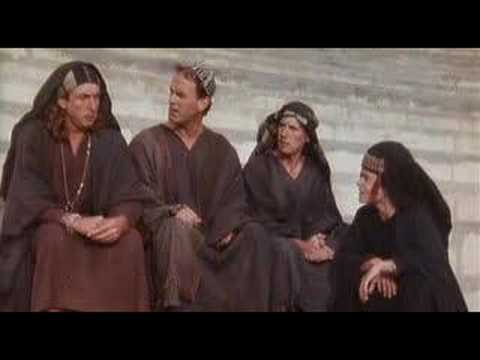 Monty Python's The Life of Brian came out 40 years ago but I feel like this scene is more relevant now than ever.