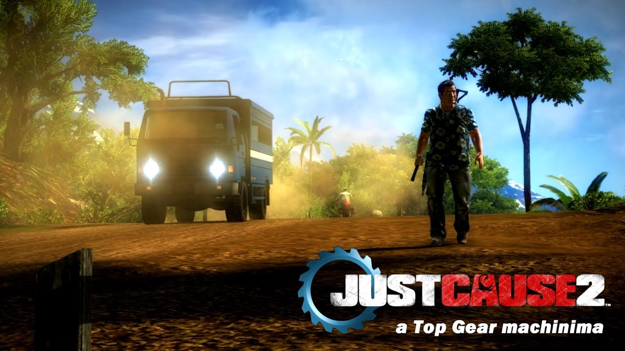 Who Needs Jeremy Clarkson? Let's Just Remake Top Gear In Just Cause 2