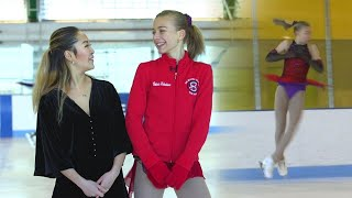 Rising Figure Skating Star Shows Us Her Incredible Moves