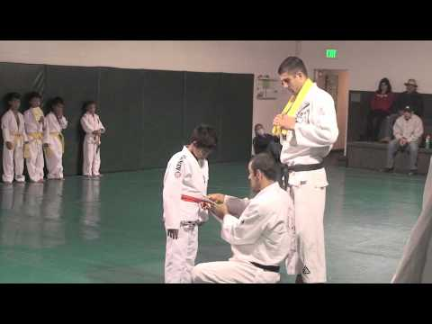 Orange Belt Gracie JJ