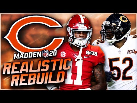 Rebuilding the Chicago Bears | Henry Ruggs III GOES OFF with Trubisky Replacement! Madden 20