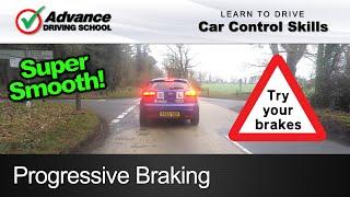 Progressive Braking  |  Learn to drive: Car control skills