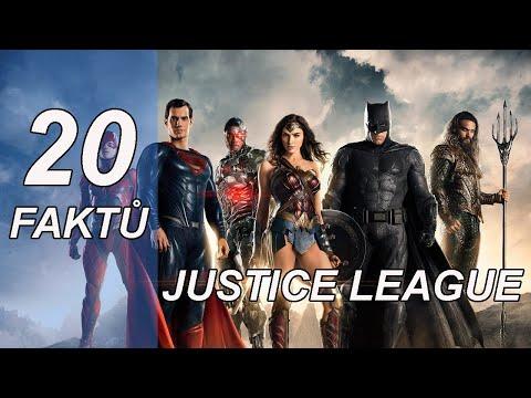 20 FAKTŮ - Liga spravedlnosti /Justice League (2017)