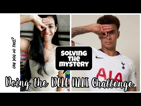 HOW TO DELE ALLI CHALLENGE! EASY 1 minute tutorial
