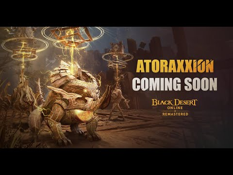 Black Desert Is Launching Its First Co-Op Dungeon, Atoraxxion, Later This Summer