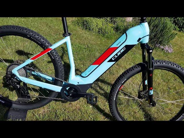 Видео Велосипед Cube Nuride Hybrid Pro 500 berry´n´grey
