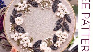 Free Pattern 001 For Embroidery/ Бесплатная схема 001 для вышивки.