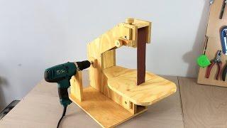 Making A Homemade Belt Sander  El Yapımı Şerit Zımpara Makinası