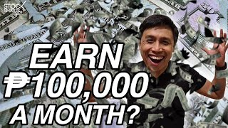 HOW TO GET 100,000 PESOS A MONTH FROM DIVIDENDS?
