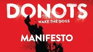 Donots - Manifesto (Official Audio)