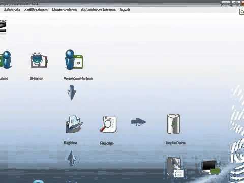 Configuración control horario y acceso ANVIZ