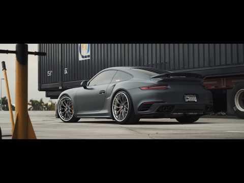 ANRKY Wheels - AN30 Centerlock + Porsche 991 Turbo + iPE Ti Exhaust