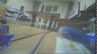 Micro fpv quad indoor flight