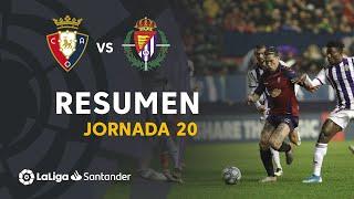 Highlights CA Osasuna vs Real Valladolid (0-0)