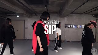 Bada Lee Choreo Class | Chris Brown - Sip | Justjerk Dance Academy