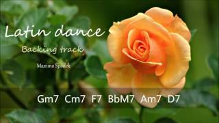 LATIN DANCE BACKING TRACK IN G FOR TRUMPET, PIANO, GUITAR, SAXOPHONE, FLUTE AND PERCUSSION
