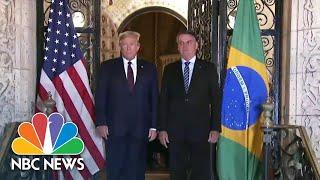 White House Announces Travel Ban For Brazil, New Coronavirus Hot Spot | NBC News