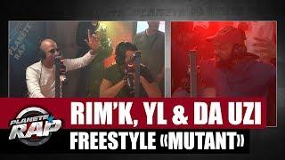 "Rim'K, YL & DA Uzi - Freestyle ""Mutant"" #PlanèteRap"
