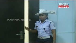 ADG's Wife Break Traffic Rule in Bhubaneswar