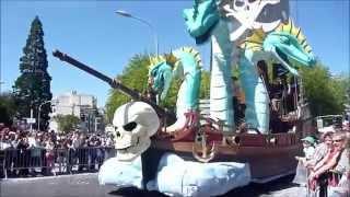 preview picture of video '2014   acharnes Defile de jour Carnaval de cholet'