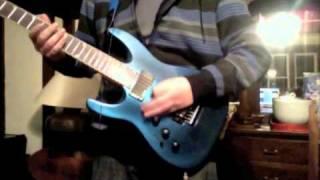 """""""Caves"""" Chiodos guitar cover"""
