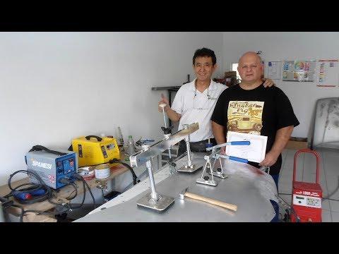 Sprex Japan - Curso de Des-amassamento e Pequena Solda em Alumínio (2ª parte)