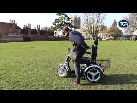 TGA Supersport mobility scooter - freedom with classic retro styling YouTube video thumbnail