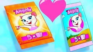 Говорящая Анджела #23  Мультик про котиков Мульт ИГРА # УШАСТИК KIDS