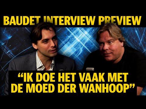 """Jensen: BAUDET INTERVIEW PREVIEW: """"IK DOE HET VAAK MET DE MOED DER WANHOOP"""""""