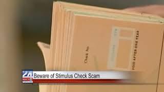 Stimulus Check Scam Warning
