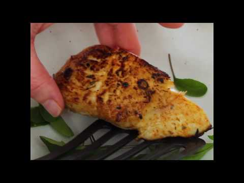 Halibut With Herb Marinade