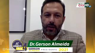 MEDIOS | Entrevista a nuestro candidato presidencial Gerson Almeida en Windows City.