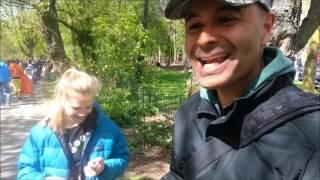 Kort filmpje van Koningsdag in het Vondelpark